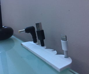 Simple Cable Holder