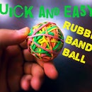 Quick And Easy Rubber Band  Ball