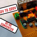 200Watts 12V to 220V DC-DC Converter