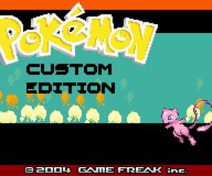 Edit GBA Pokémon Title Screen Logo and Version