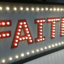 Marquee name sign
