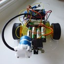 Water cannon arduino robot IR
