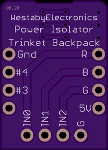 Solder Backpack PCB