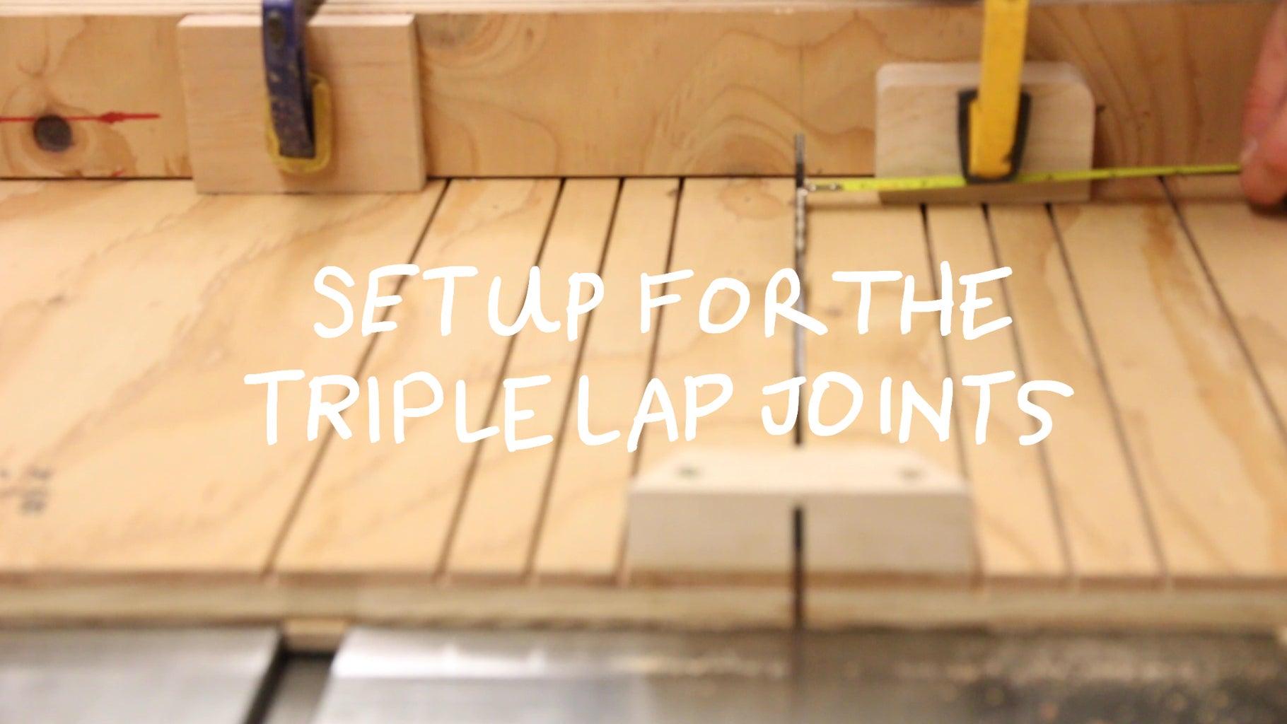 Cut the Cross-Lap Joinery