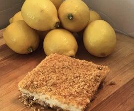 50's Style, No-Bake Lemon Dessert