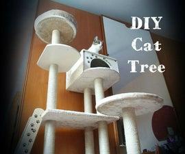 DIY Cat Tree House