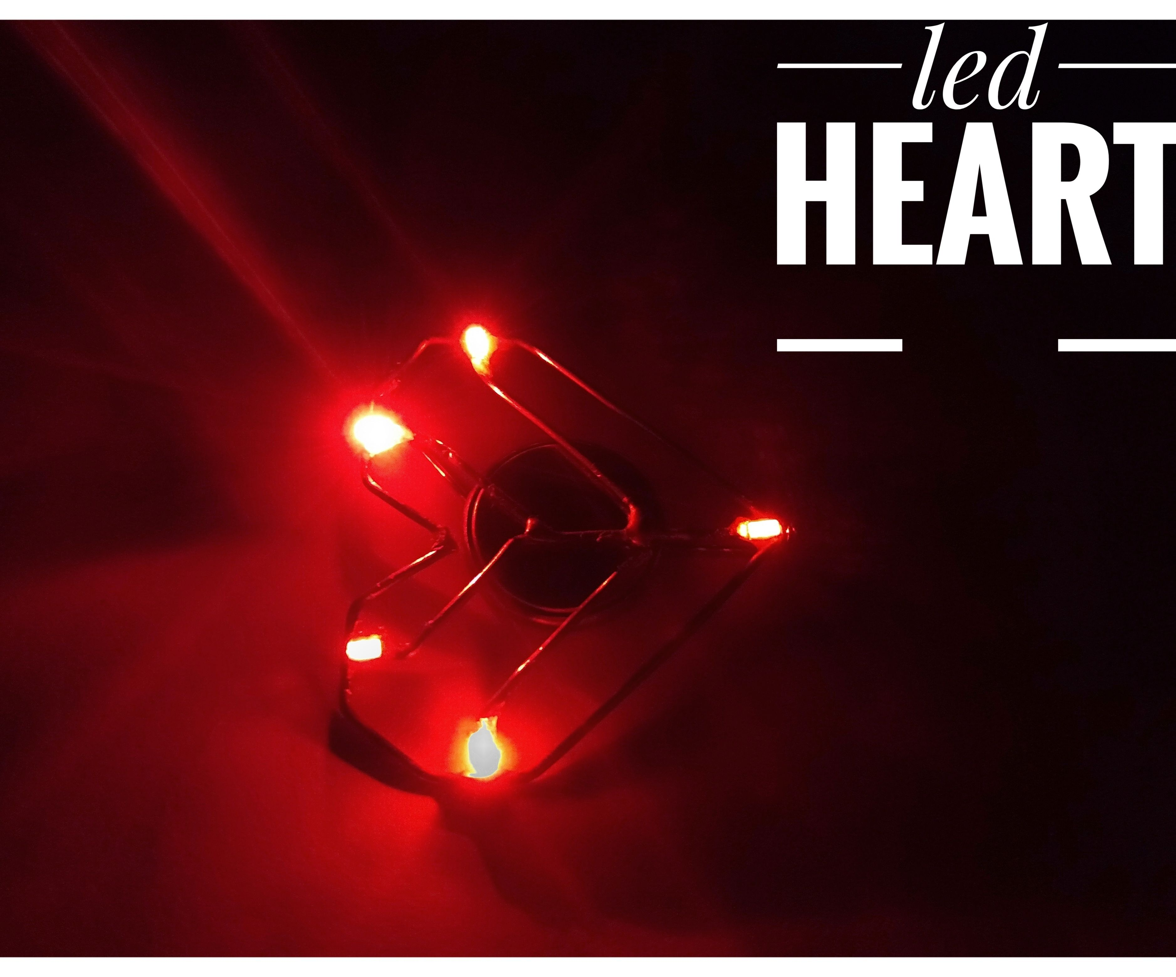 Led Heart ❤️ Pendant