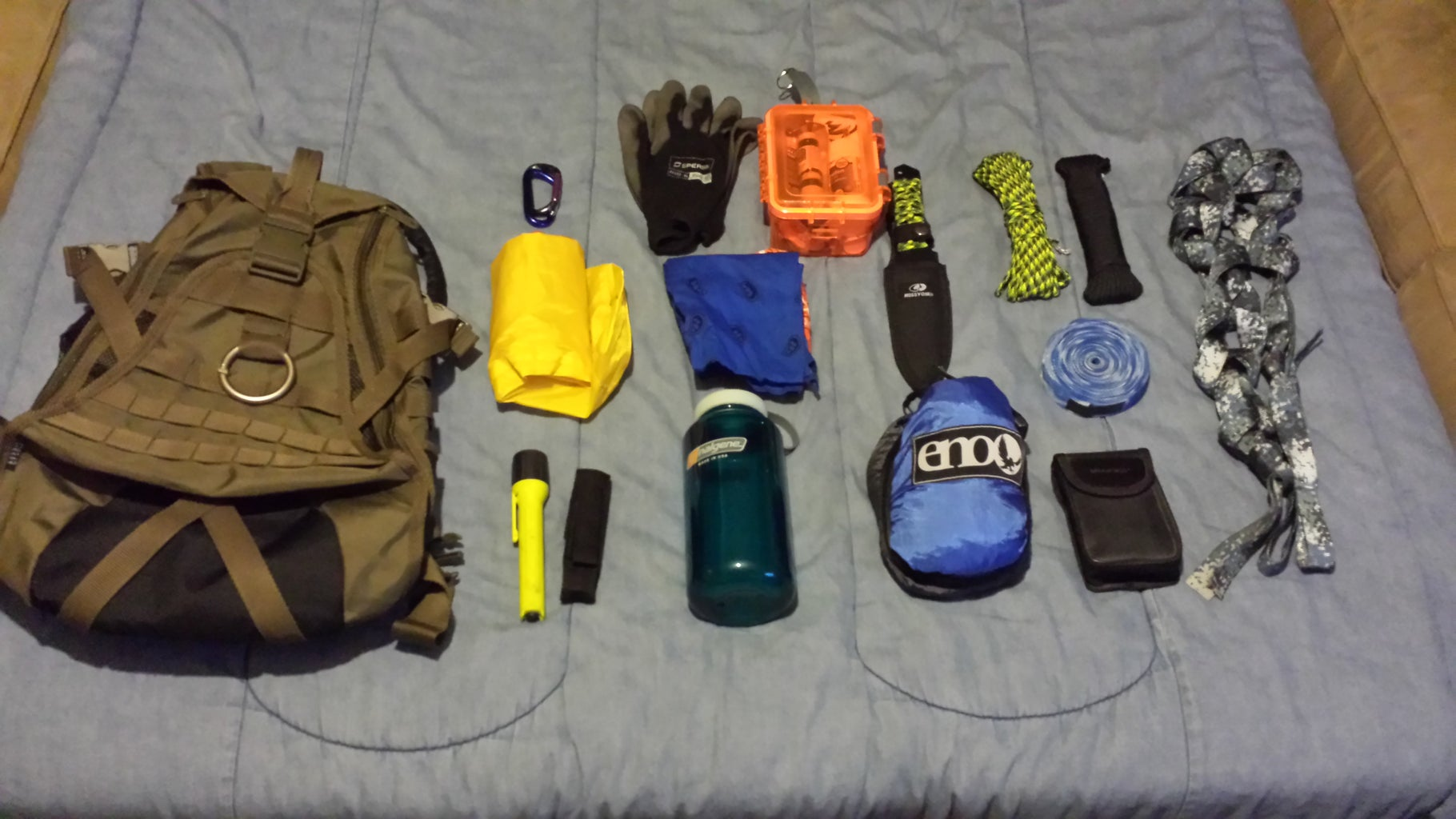 My Survival Pack Project