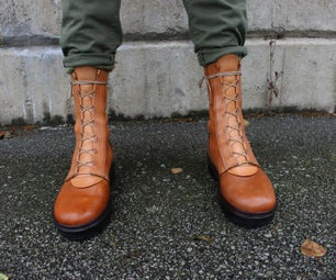 Post-Apocalyptic Boots