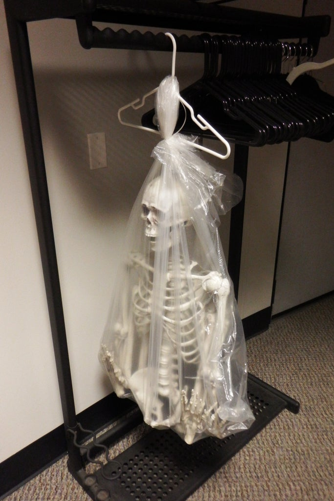 Skeleton in Your Closet, Literally.