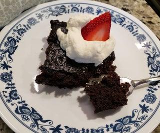 Fast & Easy Chocolate Cake