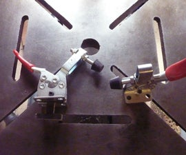 Tee Slot Drill Press Clamps, Easy and Quick