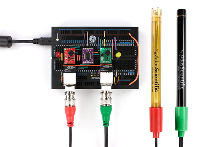 MAKE YOUR OWN PH AND SALINITY MONITORING SYSTEM WITH LED INDICATORS