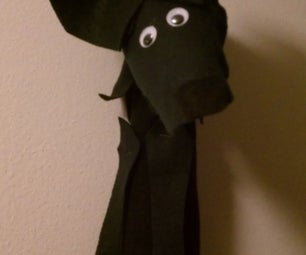 Wolf Sock Puppet