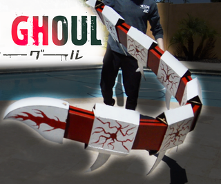Kagune Build From Tokyo Ghoul!