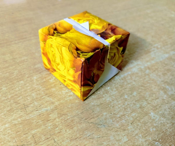 Origami Candy Gift Box