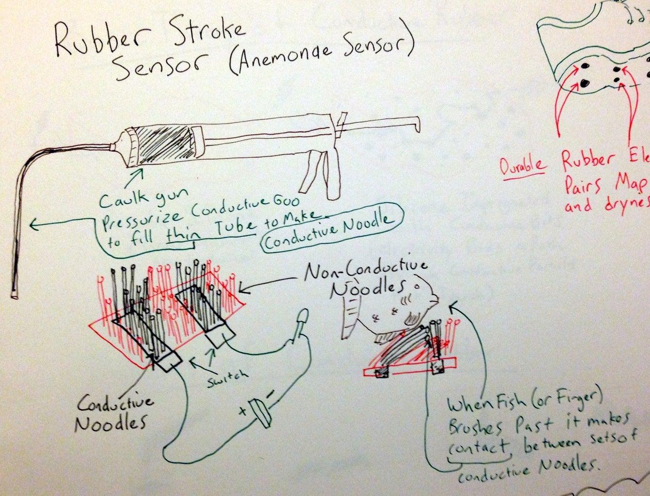 Anemone Sensor (Silicone Circuit)