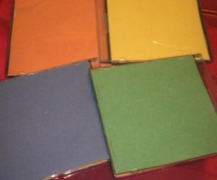 "Toddler CD ""Color"" Cases"