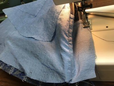 Adding Lining to Sides