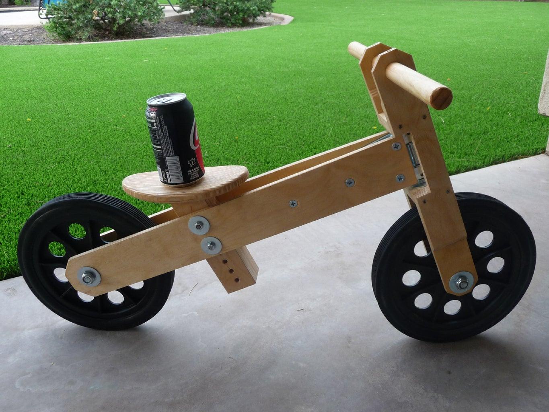 Mini Baltic Plywood Balance Bike