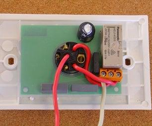 Bluetooth Remote Controlled Light Switch -- Retrofit. Light Switch Still Works, No Extra Writing.