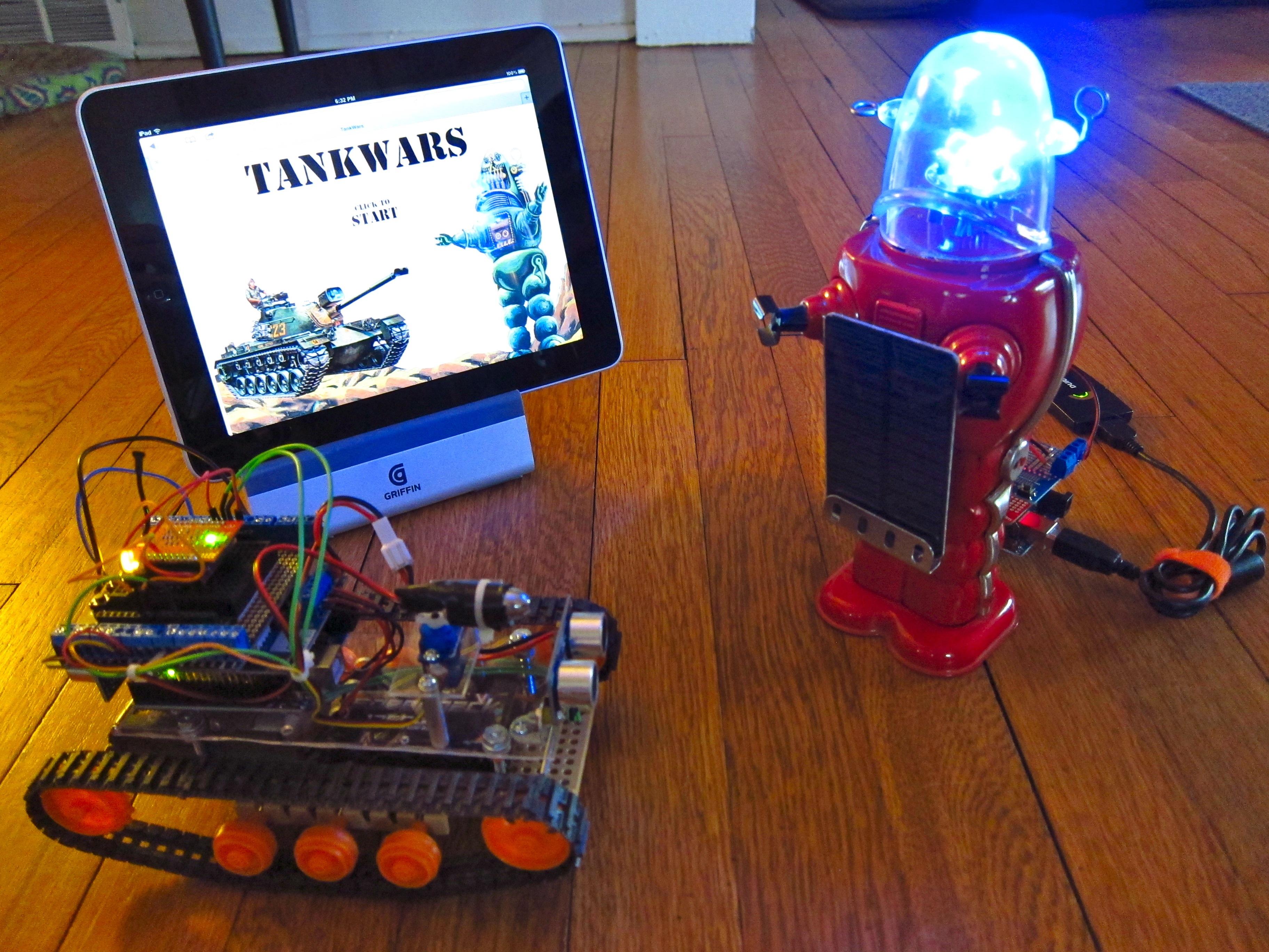 TankWars: A Physical Video Game
