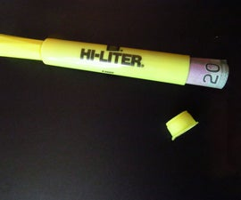 Hi- Liter Secret Compartment (That Still Works As a Pen)
