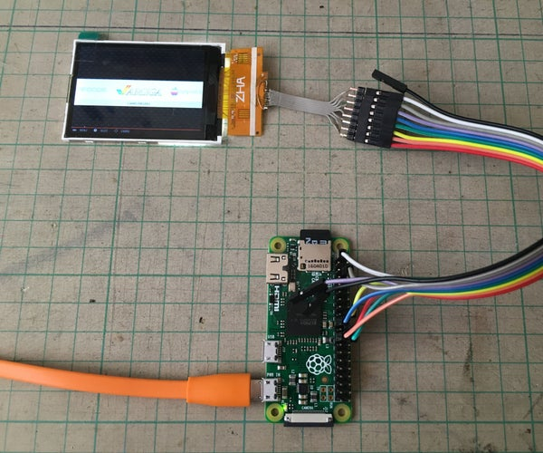 Testing Pi Zero Without Soldering Header