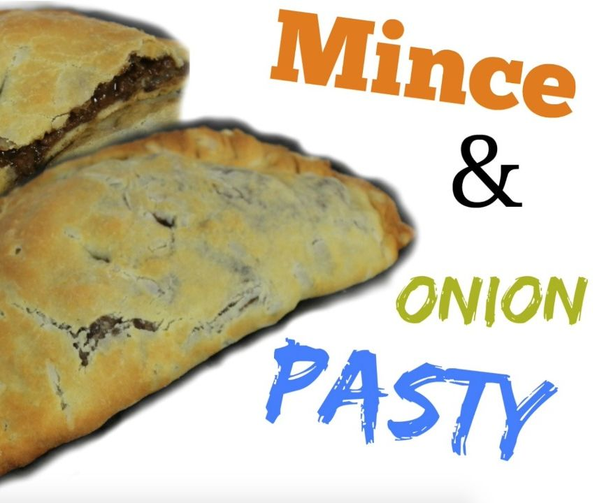 Mince and Onion Pasty (Vegan)