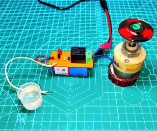 Automatic Water Pump Controller With PCB Board