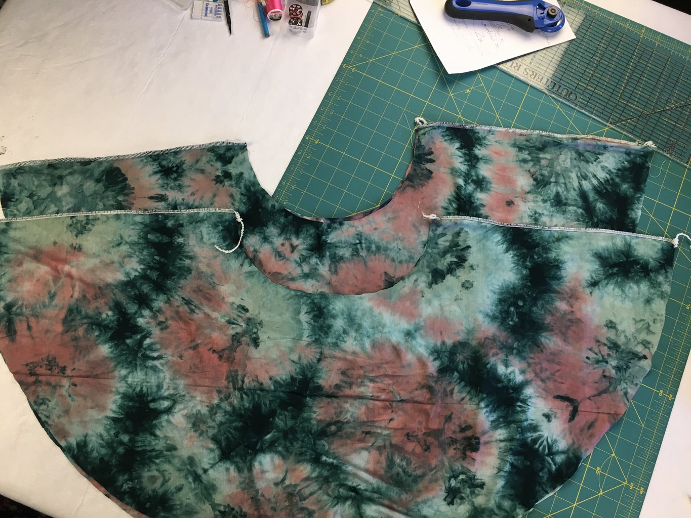 Sew and Gather Circle Sleeves