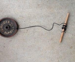 Home Made Wrist Roller