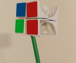 Rubix Cube Flower