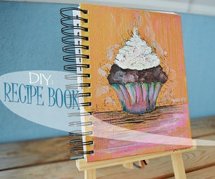 How to Make a Hand Painted Recipe Book