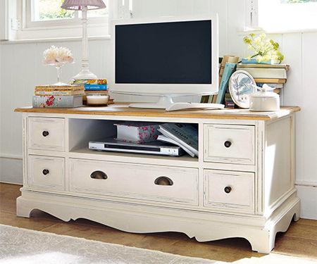 Cottage media or TV cabinet