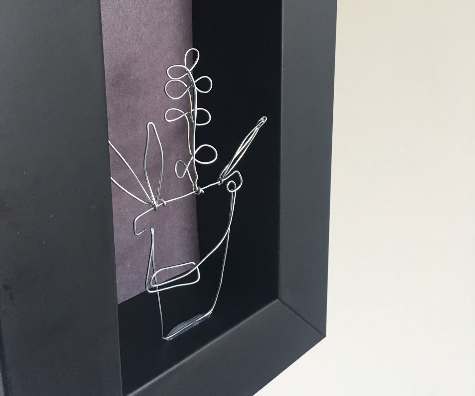 Plant Wire Art - No Soldering Required