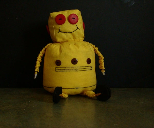 A Sitting Instructables Robot
