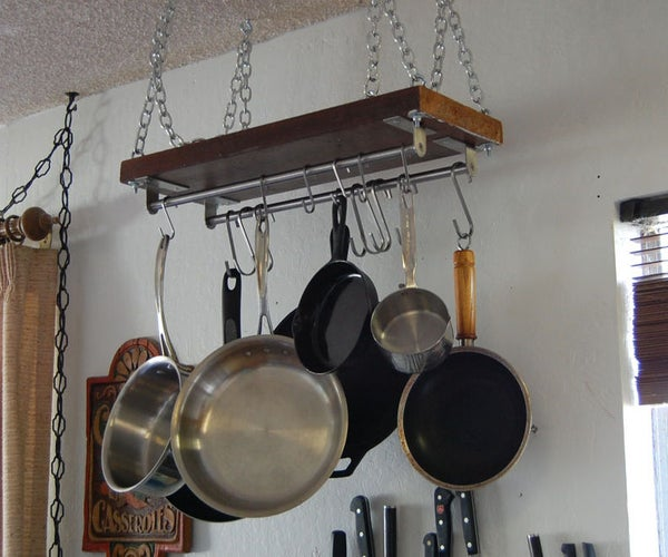 Easy Pot Rack