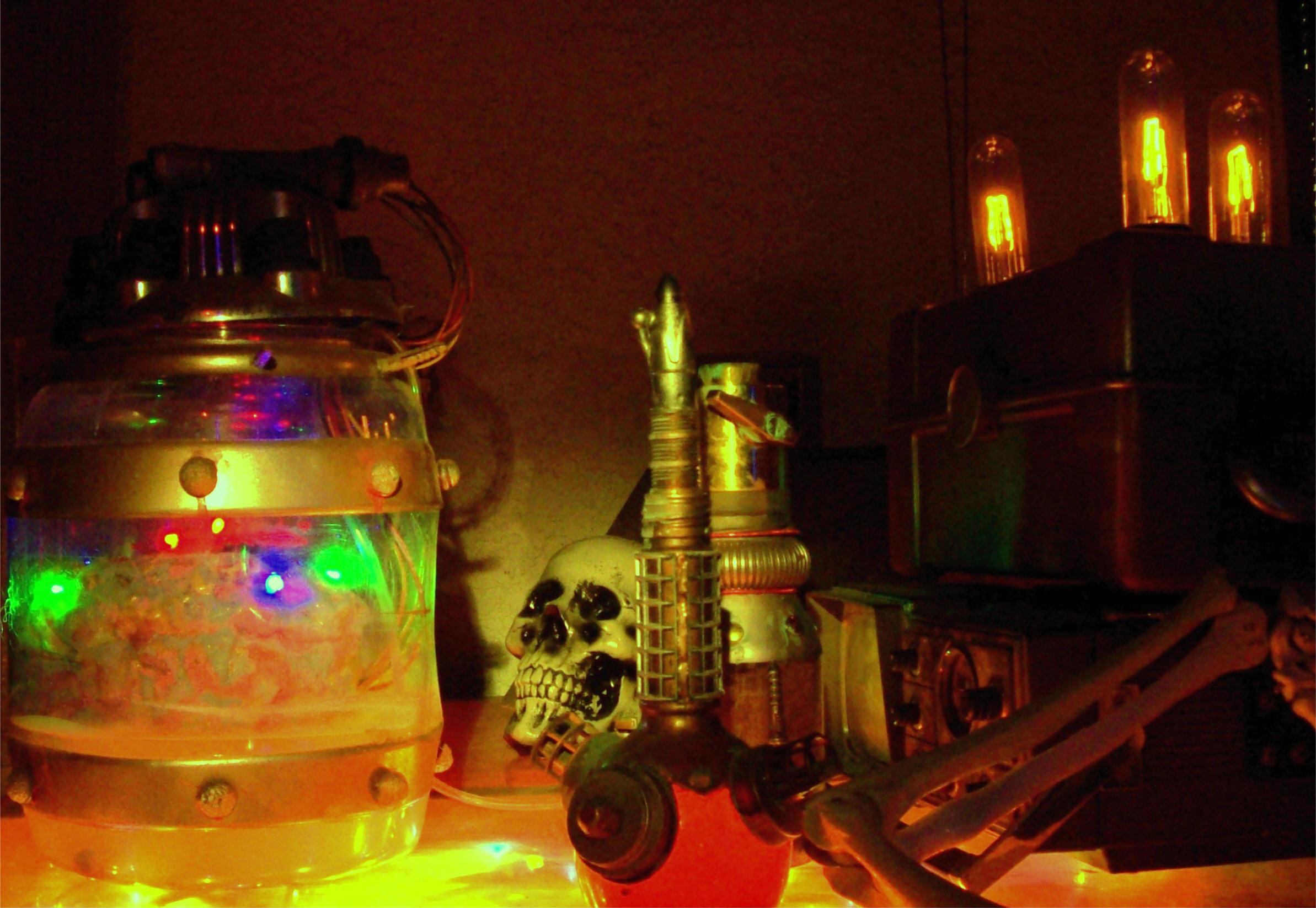 Brain in a Jar!
