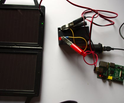 Solar Powered Raspberry Pi