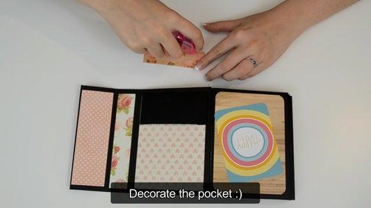 Making the Pocket: Decorating It