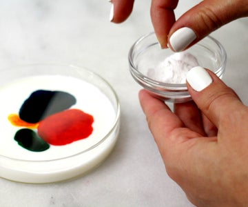 Soap Application #3: Sprinkled Dishwashing Powder