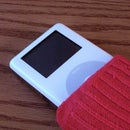 Emergency iPod Sock- At last, a use for stray socks!