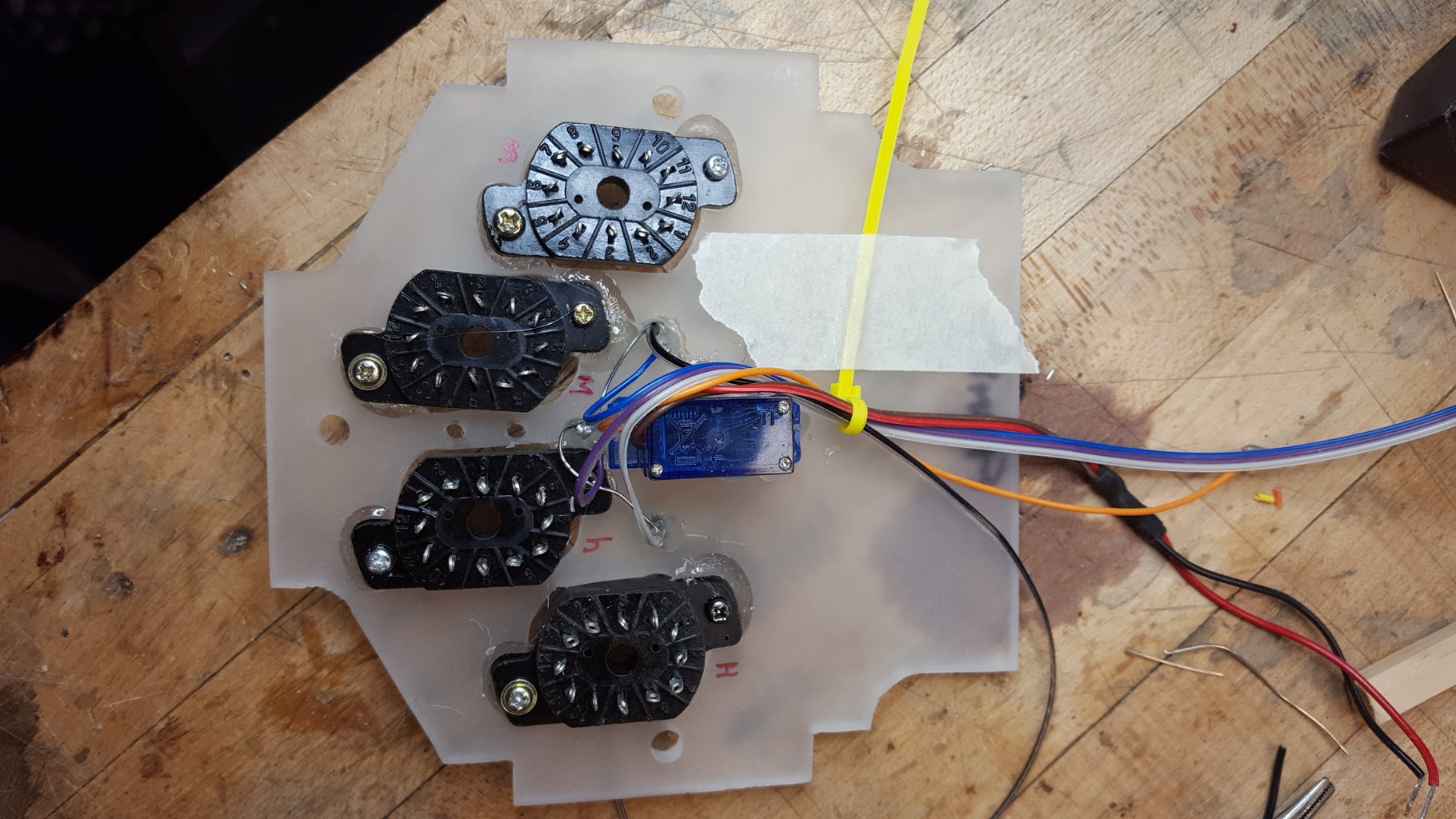 Soldering the Circuits...