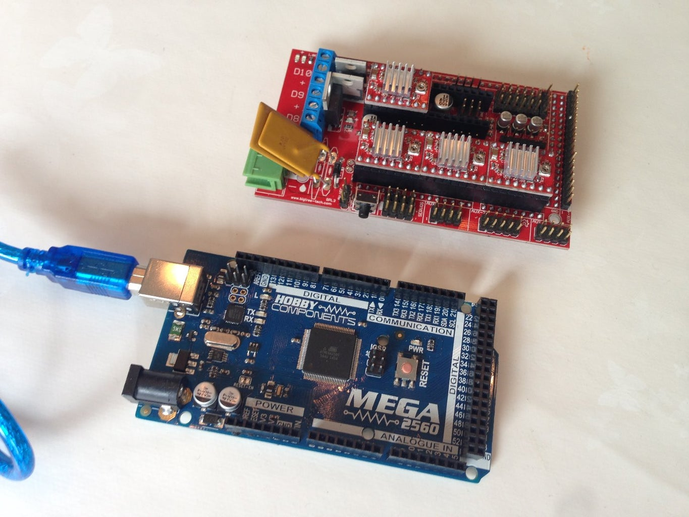 Assemble/Firmware on Mega 2560 and Ramps 1.4 Board