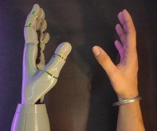 Cyborg Hand : Robotic-cum-Prosthetic Servo Powered Hand