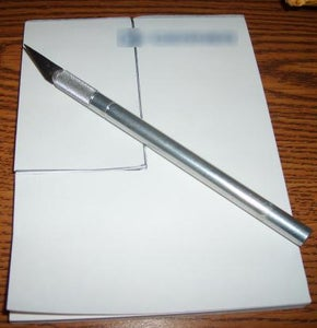 Cutting Down the Notepad
