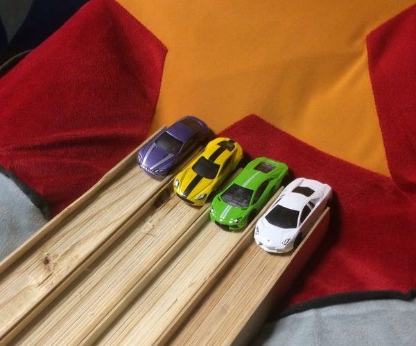 Wood Hot Wheels Track