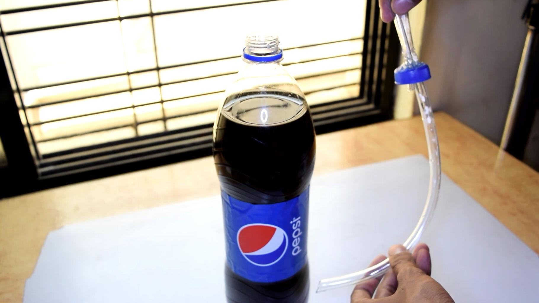 Modification to Soda Bottle Cap !