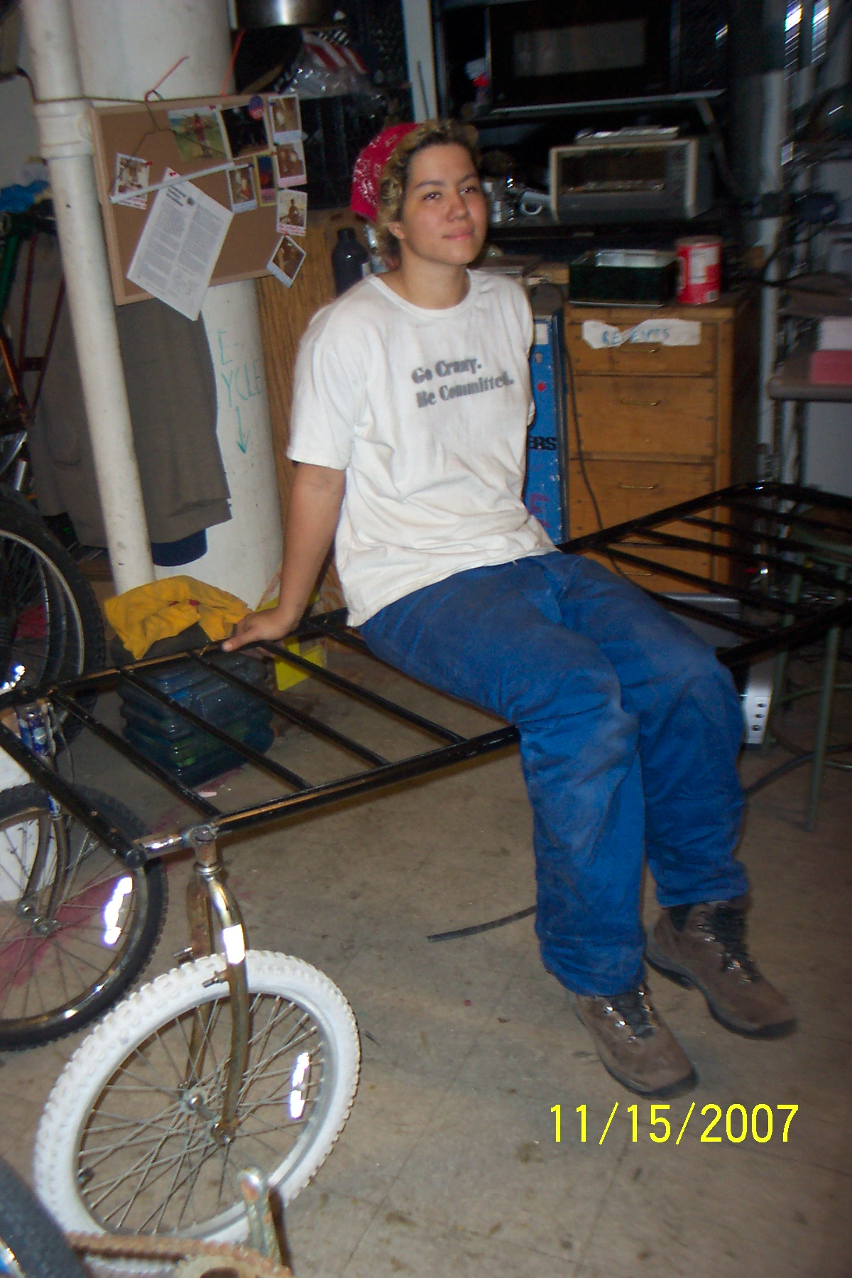 Turn your Bed into a Bike Trailer